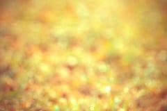 Abstrakcjonistycznego bokeh oświetleniowy tło Obraz Royalty Free
