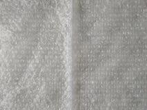 abstrakcjonistycznego bubblewrap czerwona tekstura Zmi?ty b?bla opakunek fotografia stock