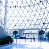 abstrakcjonistycznego budynku nowożytny strzał Obrazy Royalty Free