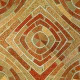 abstrakcjonistycznego cegły wzoru bezszwowa płytka Obraz Royalty Free