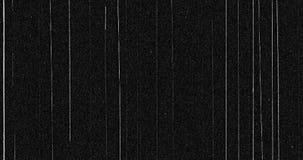 Abstrakcjonistycznego ciemnego tła realistyczny migotanie z liniami, analogowy rocznika TV sygnał z złą interferencją, statyczny  zdjęcie wideo