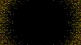 Abstrakcjonistycznego cyfrowego fractal kalejdoskopu tła kreatywnie wszechświat ilustracja wektor