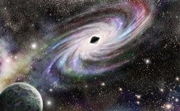 abstrakcjonistycznego czarny desgin geometrycznego dziury złudzenia ilustracyjni okulistyczni kształty Zdjęcie Royalty Free