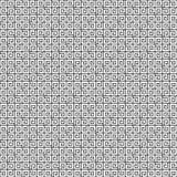 abstrakcjonistycznego czarny geometrycznego ilustraci wzoru bezszwowy wektorowy biel Zdjęcie Royalty Free
