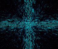 Abstrakcjonistycznego Desktop tło projekta tekstury Tapetowego kodu Cyber Programmic Vicrutal Matrycowa grafika ilustracji
