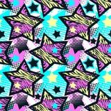 Abstrakcjonistycznego dziewczyny t-shirtl grunge bezszwowy szorstki wzór, ilustracji