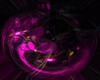 Abstrakcjonistycznego elementu elegancji wyobraźni szablonu magiczny artystyczny fractal, kształtuje piękną projekt wyobraźnię, d royalty ilustracja