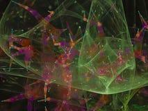 Abstrakcjonistycznego fractal dynamiczny przybranie dekoracyjny, składu unikalny projekt ilustracji
