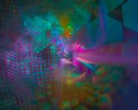 Abstrakcjonistycznego fractal płomienia błyszczący miękki kędzior kreatywnie, szablon artystyczny, elegancja, dynamiczna ilustracji