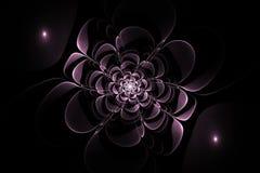 Abstrakcjonistycznego fractal symetryczny kwiat Zdjęcie Royalty Free