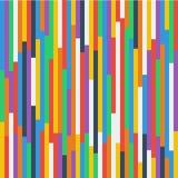 Abstrakcjonistycznego fullcolor geometrycznego płaskiego projekta wzoru tła sieci tapety bezszwowy szablon zdjęcie stock