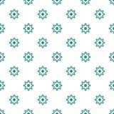 Abstrakcjonistycznego geometrical kwiatu bezszwowy wzór Obrazy Royalty Free