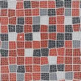 Abstrakcjonistycznego geometrical pojęcia voronoi niski poli- tesselated wzór świadczenia 3 d Zdjęcie Stock
