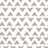 Abstrakcjonistycznego geometrycznego moda projekta druku trójboka falowy wzór royalty ilustracja