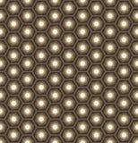 Abstrakcjonistycznego geometrycznego sześciokąta bezszwowy deseniowy tło Obraz Stock