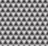 Abstrakcjonistycznego geometrycznego trójboka sześciokąta bezszwowy deseniowy tło Obraz Stock