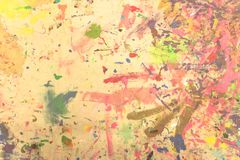 Abstrakcjonistycznego grunge akrylowa ręka malował na brezentowym tle Zdjęcia Royalty Free