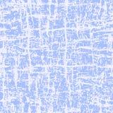 Abstrakcjonistycznego grunge błękita bezszwowy wzór Zdjęcie Stock