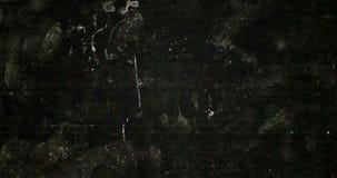 Abstrakcjonistycznego grunge czarny i biały tła realistyczny migotanie, analogowy rocznika TV sygnał z złą interferencją ilustracja wektor