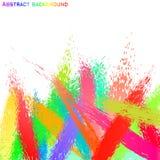 Abstrakcjonistycznego grunge kolorowy tło. Fotografia Royalty Free