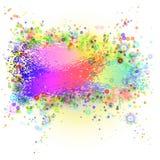 Abstrakcjonistycznego grunge kolorowy tło. Obraz Stock