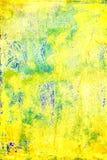 Abstrakcjonistycznego Grunge Kolorowy Textured tło Sztuka pyłu narzuty Ciemny Upaćkany cierpienie Obraz Stock