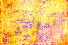 Abstrakcjonistycznego Grunge Kolorowy Textured tło Sztuka pyłu narzuty Ciemny Upaćkany cierpienie Fotografia Royalty Free