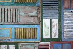 Abstrakcjonistycznego grunge starego koloru tekstury drewniany tło Obrazy Stock