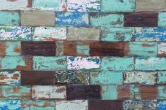 Abstrakcjonistycznego grunge starego koloru tekstury drewniany tło Obrazy Royalty Free