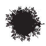 abstrakcjonistycznego grunge tła ilustracji dekoracyjny kwiecisty wektora Fotografia Stock