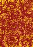 abstrakcjonistycznego grunge tła illustratio dekoracyjny kwiecisty wektora Obraz Royalty Free