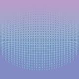 Abstrakcjonistycznego halftone bławy tło Zdjęcie Stock