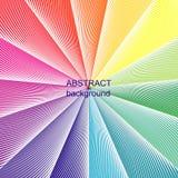 Abstrakcjonistycznego halftone kreatywnie geometryczny wektorowy tło Zdjęcia Stock