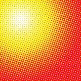 Abstrakcjonistycznego halftone kropkowany tło Fotografia Stock