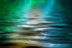 abstrakcjonistycznego kolorowa tła wody. ilustracja wektor