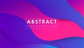 abstrakcjonistycznego kolorowe geometrycznego t?a Trendu gradient Fluid kszta?tuje sk?ad Eps10 Wektor royalty ilustracja
