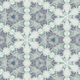 Abstrakcjonistycznego kolorowego sześciokąta kwadrata kalejdoskopu geometryczna bezszwowa deseniowa symmetric moda zdjęcie royalty free