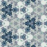 Abstrakcjonistycznego kolorowego sześciokąta kwadrata kalejdoskopu geometryczna bezszwowa deseniowa symmetric moda zdjęcia royalty free