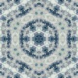 Abstrakcjonistycznego kolorowego sześciokąta kwadrata kalejdoskopu geometryczna bezszwowa deseniowa symmetric moda obrazy stock