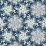 Abstrakcjonistycznego kolorowego sześciokąta kwadrata kalejdoskopu geometryczna bezszwowa deseniowa symmetric moda obraz royalty free