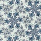 Abstrakcjonistycznego kolorowego sześciokąta kwadrata kalejdoskopu geometryczna bezszwowa deseniowa symmetric moda zdjęcia stock