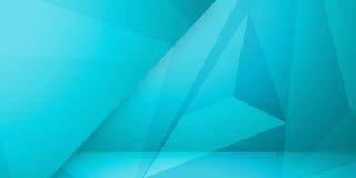 Abstrakcjonistycznego kolorowego trójboka tła abstrakcjonistycznego kolorowego tła geometryczny miętoszący trójgraniasty niski po Zdjęcia Stock