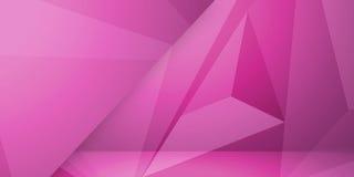 Abstrakcjonistycznego kolorowego trójboka tła abstrakcjonistycznego kolorowego tła geometryczny miętoszący trójgraniasty niski po Obraz Stock