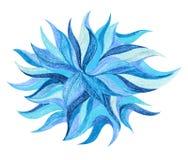 Abstrakcjonistycznego koloru ołówkowy remis Fotografia Royalty Free