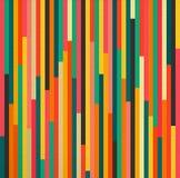 Abstrakcjonistycznego koloru rocznika retro bezszwowy deseniowy tło ilustracji