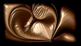 Abstrakcjonistycznego kruszcowego serca textured tło, tapeta ilustracji