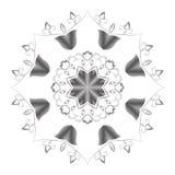 Abstrakcjonistycznego kurenda wzoru stalowy kolor ilustracji
