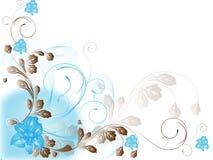 abstrakcjonistycznego kwiatu ilustracyjny wiosna lato Zdjęcie Stock