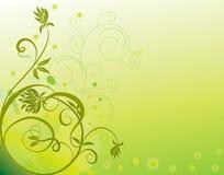 abstrakcjonistycznego kwiatu ilustracyjny wiosna lato ilustracja wektor