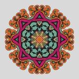 Abstrakcjonistycznego kwiatu wektorowa postać Obrazy Stock